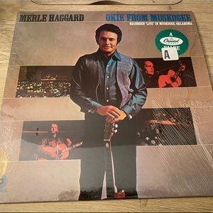 3/$25Merle Haggard Okie from Muskogee Vinyl